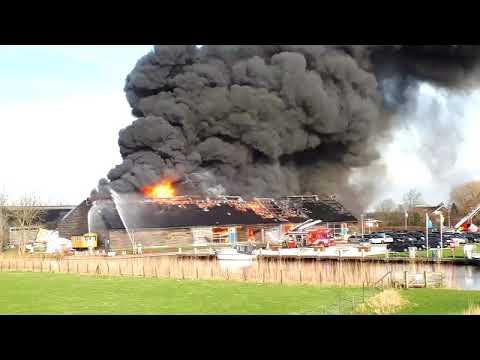 Grote brand #IJsselstein (Utr)