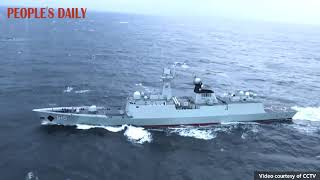 Chinese and Russian Navies wrapped up their first joint maritime cruise on Saturday.