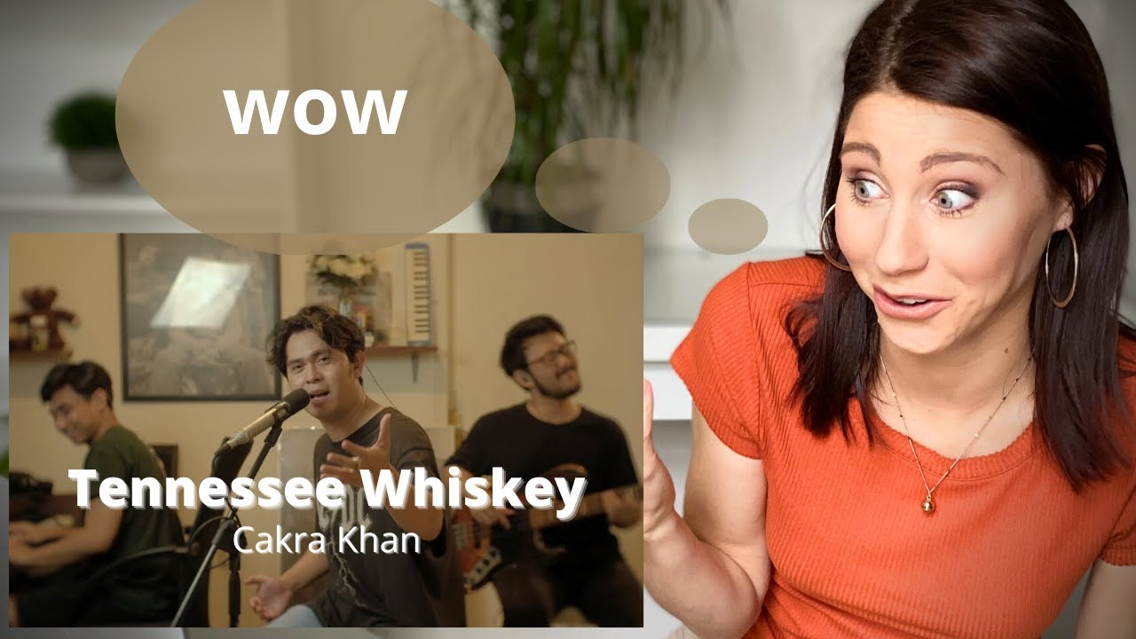 Stage Performance coach reacts to Cakra Khan 'Tennessee Whiskey'