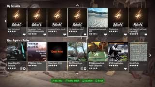 Fallout 4 PS4 MODS TOP SURVIVAL MODS