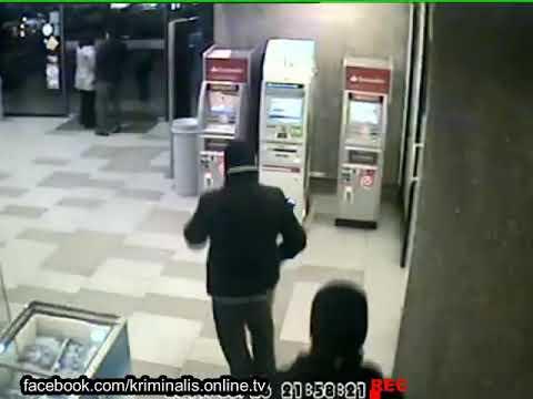 Как Чеченцы грабять банкоматы в Краснодаре за одну минуту
