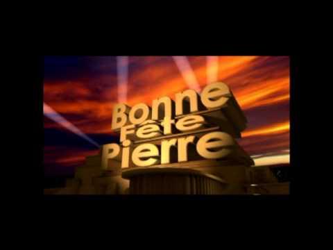Bonne Fête Pierre Youtube