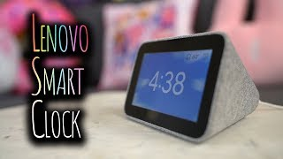 Minimalism: Lenovo Smart Clock Review! Better than the Amazon Echo Spot? | Tech with Shannon Morse
