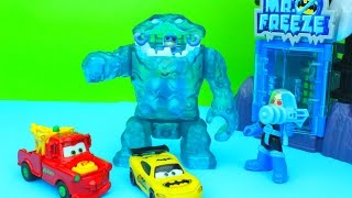 Imaginext Mr. Freeze Gift Set Batman Clayface Custom Lightning McQueen Batcar Robin Mater