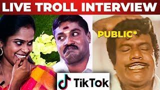 மரண கலாய்: Rowdy Baby Surya & GP Muthu Troll Interview | Tik Tok | Paper ID