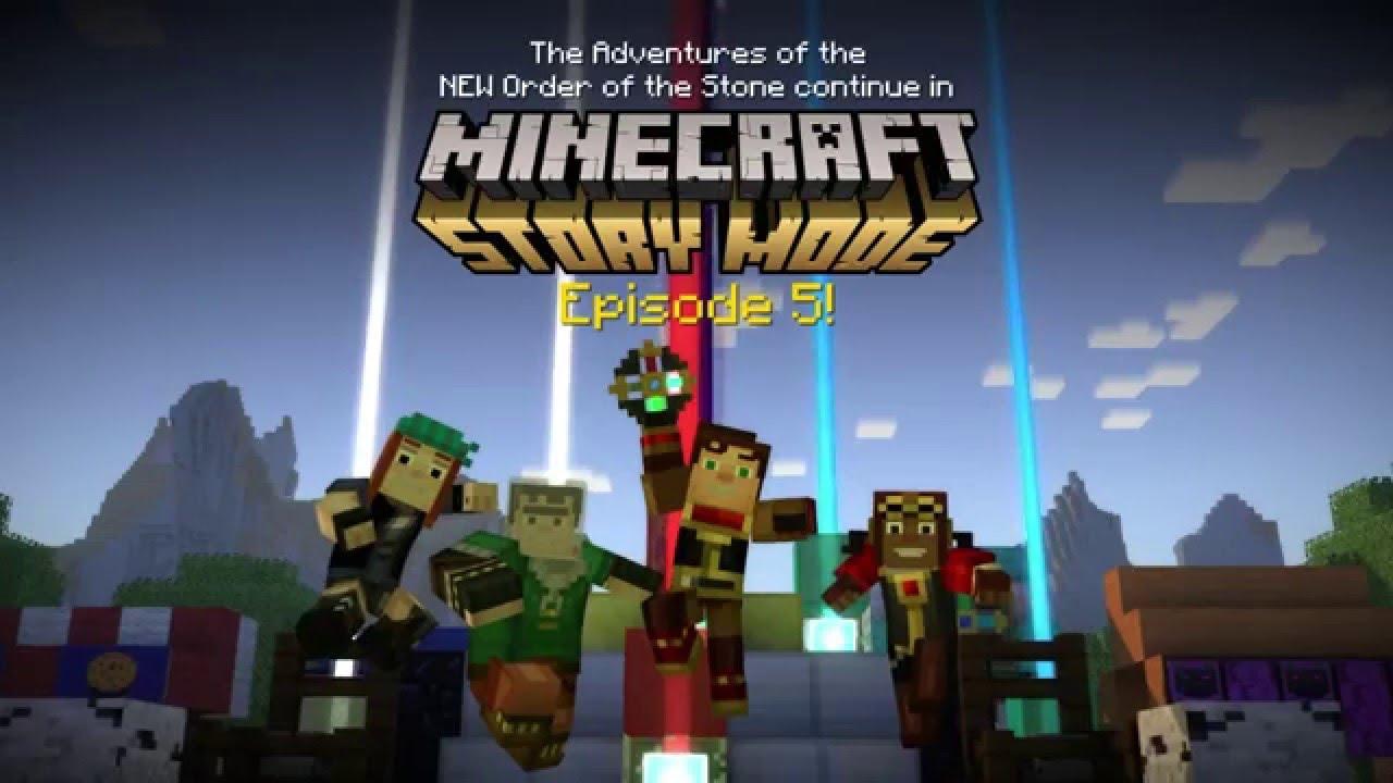 Скачать Minecraft Story Mode Эпизод 1-8 через торрент ...