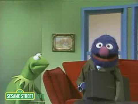 sesame street its not easy being green funnydog tv. Black Bedroom Furniture Sets. Home Design Ideas