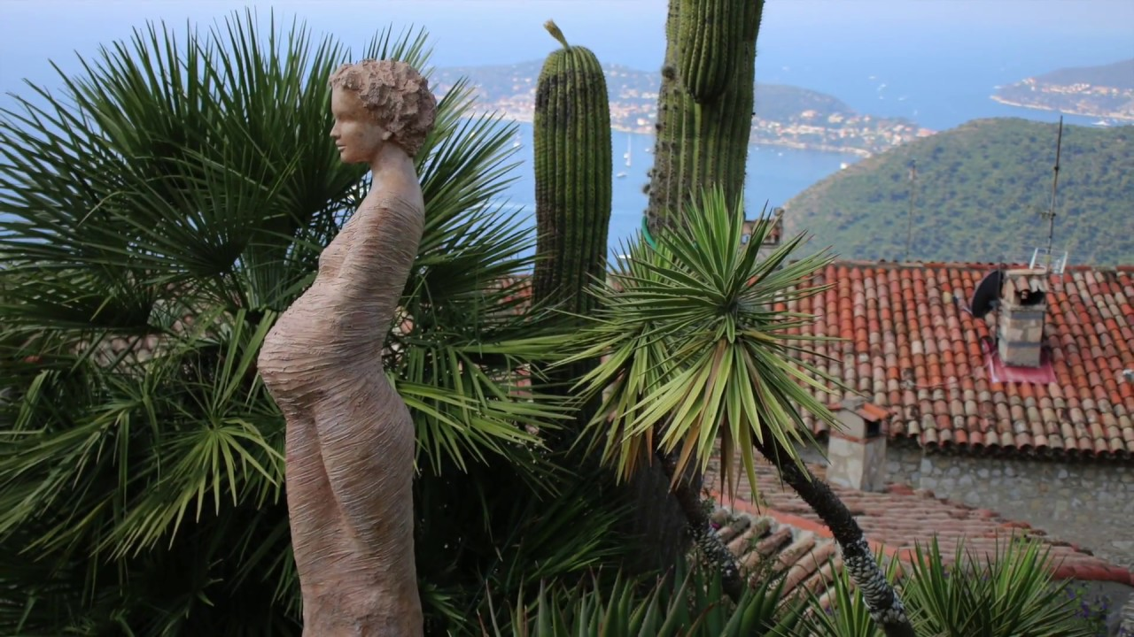 Spectacular Views From Jardin Exotique D Eze Must See When In The