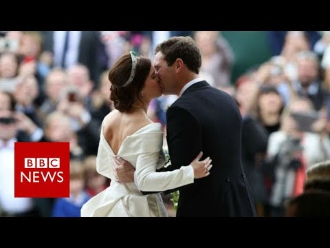 Royal wedding: Princess Eugenie marries Jack Brooksbank - BBC News