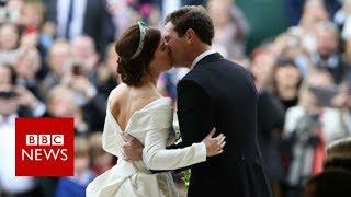 Royal wedding: Princess Eugenie marries Jack Brooksbank - BBC News
