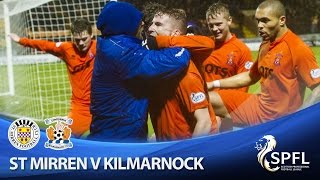 Three penalties and two reds as Killie beat Buddies