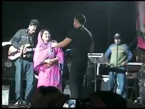 Babbu Mann with bibi ranjit kaur (Feb 2011)