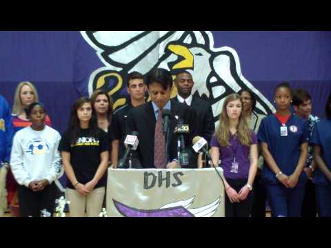 Governor Jindal Announces The Louisiana Graduation Rate Hits All-Time High