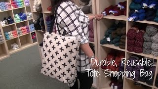 D.I.Y Durable, Reusable, Tote Shopping Bag