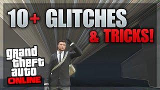 GTA 5 Glitches - 10+ Glitches & Tricks on GTA 5 Online (Camber Vehicle, Wheelie Glitch, Secret Room)