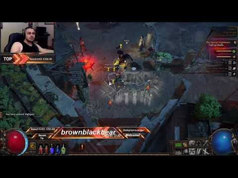 Path of Exile - Duelist Playthrough ACT 2/3 - Version 3.8 - Part 4