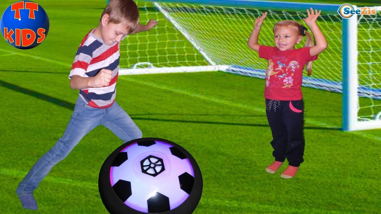 футбол детский фото