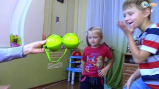 Челлендж Аэро-футбол! Девочки Против Мальчиков - Детский Челлендж Challenge for kids
