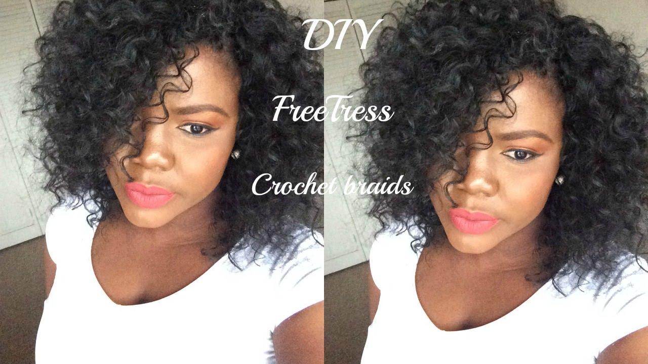 12 00 Gogo Curls Style Tutorial Freetress Crochet Braids