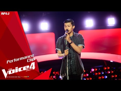 The Voice Thailand - นุ๊ก สมัชญ์ - ร้อยเหตุผล - 11 Oct 2015