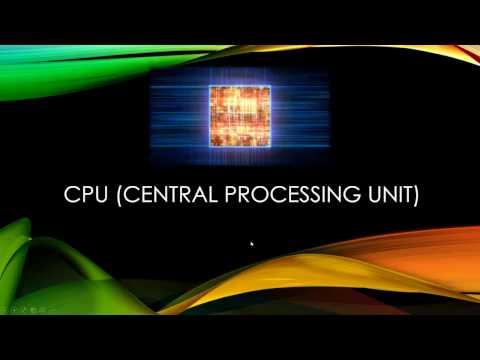 CPU (Central Processing Unit) คืออะไร?