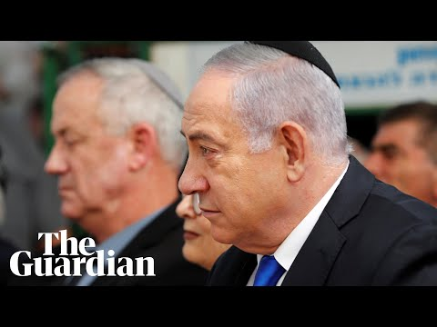 Netanyahu struggles to hold on to power as Gantz claims victory