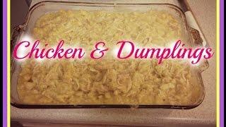 Cooking W/vee: Crockpot Chicken & Dumplings