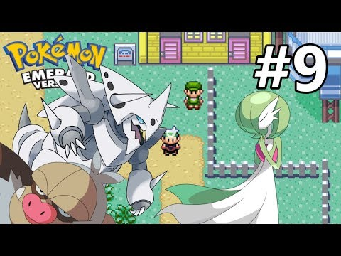 Český Let's play - Pokemon Emerald  - #9 Slaking, Aggron nebo Gardevoir?