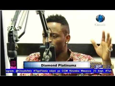 LIVE: DIAMOND PLATNUMZ EXCLUSIVE INTERVIEW LEO TENA CLOUDS FM