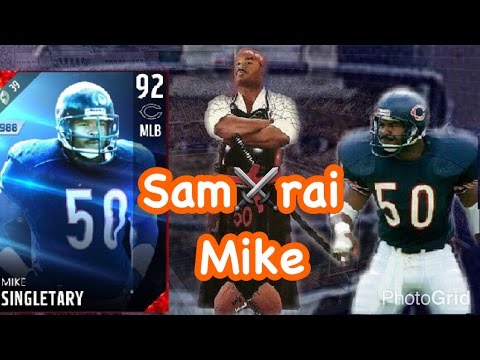 Legend Mike Singletary Madden 17 Ultimate Team Gameplay Highlights