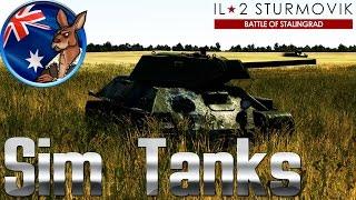 IL-2: Battle of Stalingrad - Sim Tanks