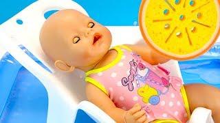 КАК МАМА МЫЛА БЕБИ БОН Мультики для детей Куклы Пупсики 108мама тв