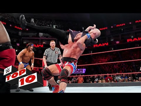 Top 10 Raw moments: WWE Top 10, December 17, 2018