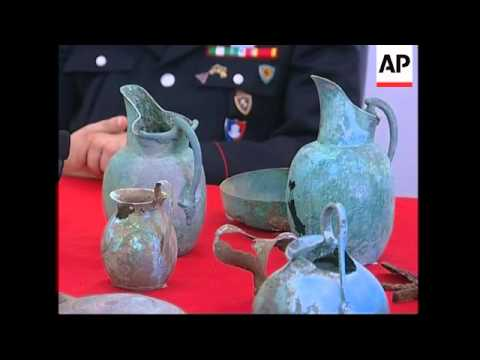 Thousands of looted antiquities recovered by police