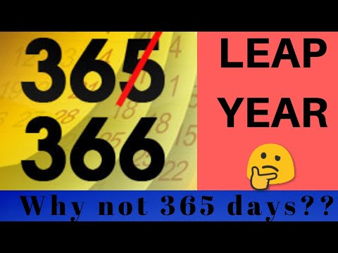 leap year : How to calculate it??    A simple logic 🤔