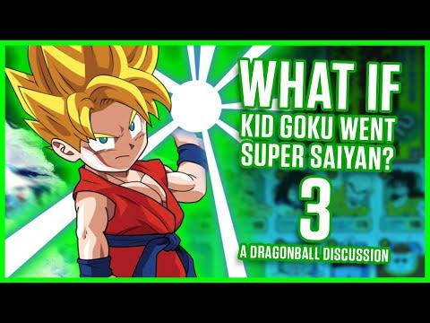 WHAT IF KID GOKU WENT SUPER SAIYAN? PART 3! | A Dragonball Discussion