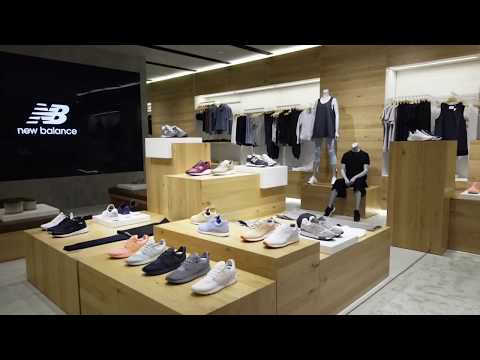 GG Project for New Balance 'Lifestyle Store of the Future' | NB Roppongi Store, Japan