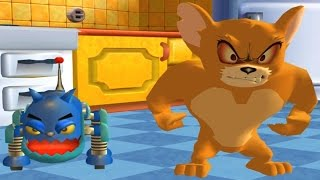 Tom and Jerry War of the Whiskers - Tom and Jerry vs Monster Jerry and Robocat - Funny Cartoon Games