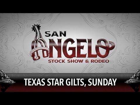 San Angelo Stock Show - Texas Star Gilts, Sunday