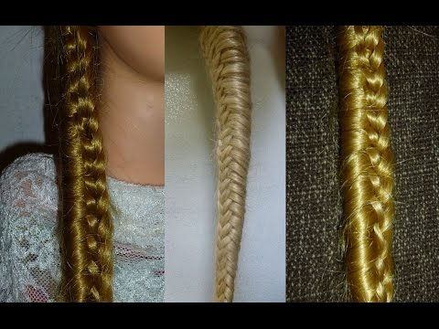Плетение косы водопад - видео инструкция (Waterfall Braid)
