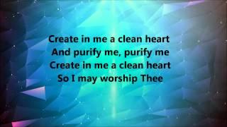 Donnie Mcclurkin - Create In Me A Clean Heart (Lyrics)