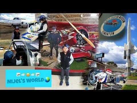 Nijel's Aviation(Aircraft) Adventure in Edmonton