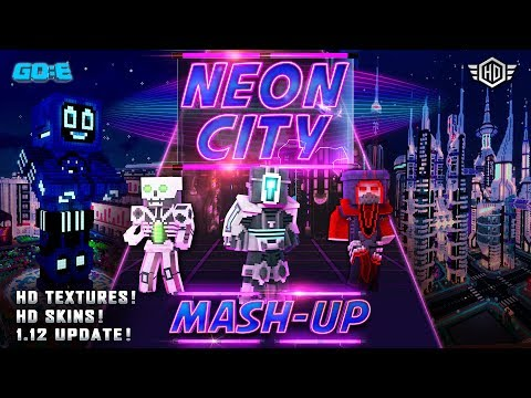 Neon City Mash Up Trailer - A Minecraft Marketplace Product