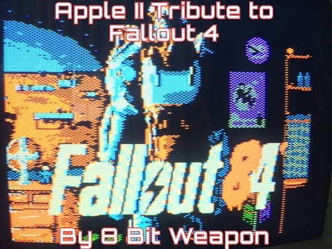Fallout 4 Tribute: Fallout '84 on the Apple IIc!
