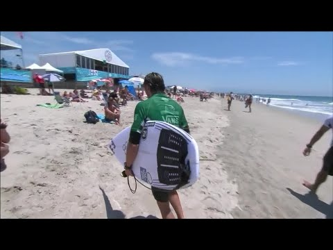 Vans US Open Of Surfing - Men's, Men's Qualifying Series - Round 2 Heat 3