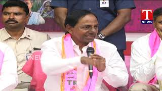 CM KCR Interact with Media | Press Meet Question and Answers | TNews Telugu