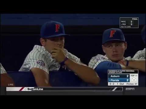 Florida Vs Auburn Game 3 Full 11th Inning