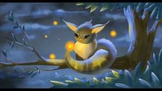 """Tree Spirits"" Digital Drawing Steps and Animation"