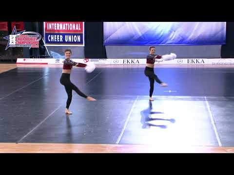 09 SENIOR DOUBLE FREESTYLE POM Bogusch   Reither MILLENIUMDANCERS AUSTRIA