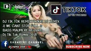 Gambar cover DJ YOCKRI TIKTOK WE CANT STOP FULL BASS MAUMERE RECORD REMIX 2018
